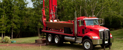 Ontario well drilling truck